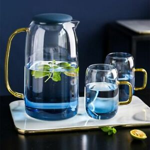 Color Changing Glass Teapot Set With Heat Resistant And Large Capacity Features