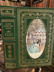 FRANKLIN LIBRARY: GONE WITH THE WIND: MARGARET MITCHELL: PATRON'S ED. 1860s