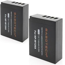 2x finepix np-w126 premium batería 7,2v 1140mah compatible con fujifilm original