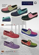 Ladies Seafarer Yachtsman Deck Shoes  FREE POST Lady Deck Shoes  Boating