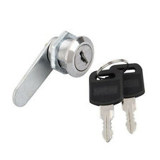 Cam Lock for Door Cabinet Mailbox Drawer Cupboard Letter Box Locker 16mm 2 Keys*