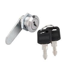 Schrankschloß Möbelschloß Briefkastenschloß 16mm Hebelschloß mit 2 Schlüssel