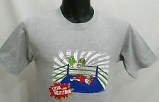 Wrestling T Shirt Lucha Libre Mexican Wrestler Tee Mens Size S/Small NWT