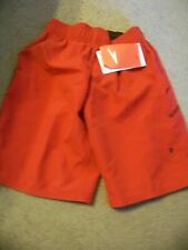 NWT Speedo Swim Shorts Swimsuit Boy's Size S 8 ~ Red ~