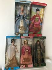 Barbie Dolls Of The World Princess Collection Lot of 5