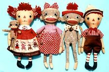 Primitive Pattern Monkeying Around Annie,Andy And Sock Monkey's To Make ! #HH