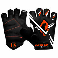 MRK Weight Lifting Half Finger Gloves Men Training Gym Workout Fitness Cycling