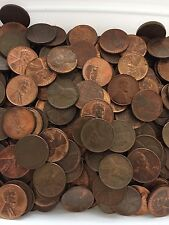 Wheat Coins 500 Super Nice Coins Wheat Cents RED/BROWN 1940-1958 PDS