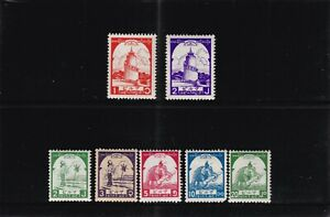 BRITISH COLONIES - BURMA JAPANESE OCCUPATION 1943 MOSTLY MNH