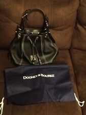 Dooney & Bourke Signature Soft Leather Black With Dustbag