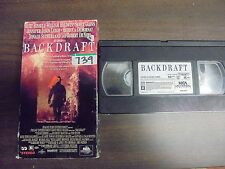 "USED VHS  Movie ""Back Draft ""  (G)"