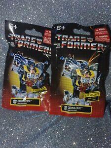 """Hasbro Prexio Transformers G1 Optimus Prime, Mini Figurine 2"""" lot of 2"""