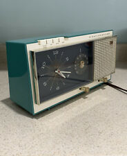 Westinghouse Clock Radio Model H718T5. 1959. Works Perfectly!