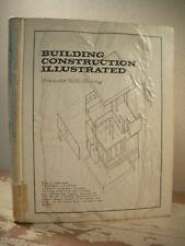 BUILDING CONSTRUCTION ILLUSTRATED  D.K. Ching 1975 HC Architectural Designing