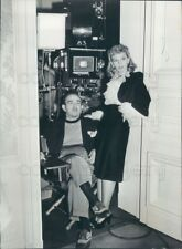 Press Photo Composer Director Victor Schertzinger With Mary Martin
