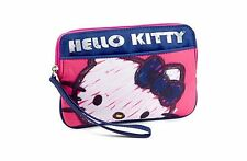 SFK Hello Kitty Ripstop Nylon Wristlet - Pink