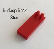 Lego RED HINGE TILE 1x2 1/2 With 2 Fingers on Top - Lot of 1