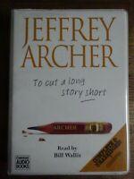 Jeffrey Archer  To cut a long story short   6 Cassette Audio Book Set