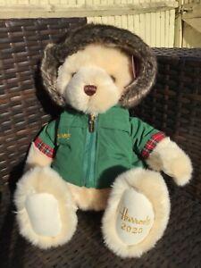 Harrods 2020 Christmas Bear - Nicholas