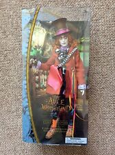 Disney Store Alice WonderLand The Mad Hatter Muñeca In