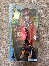 Disney Store Conjunto de 2 Alicia en el país de las maravillas el Sombrerero Loco muñecas