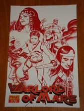 WARLORD OF MARS VOL 1 #10 RI MARTIAN RED COVER DYNAMITE STEPHEN SADOWSKI
