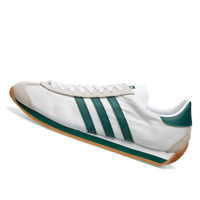 ADIDAS MENS Shoes Country OG - White, Green & Brown - EE5745