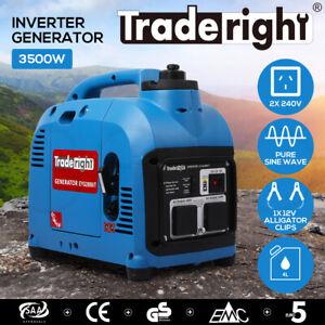 [20%OFF]Inverter Generator Portable Adventure Generators Gas Single Phase 3.5KW