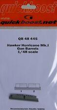 Quickboost 1/48 Hawker Hurricane Mk. I pistola barriles # 48445