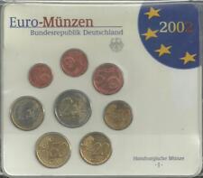 Allemagne - Coffret BU - Les Euros de l Année 2002 - Lettre : J