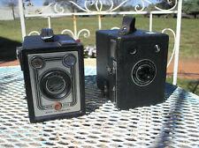 2 x box camera's, vrede + kodak