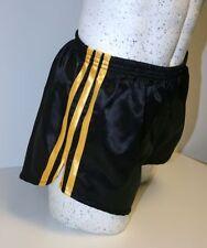 Nailon Glanz Satén Shorts de Fútbol Pequeñas a XXL Años 70 & Años 80 Retro,