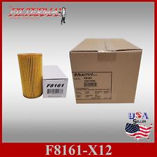 F8161 91017 (X12PCS-CASE) OIL FILTERS : 12-16 1.8L AUDI A4  , 15-18 VW JETTA
