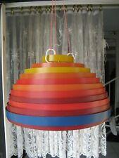 Decken Leuchte Metall Lamellen Lampenschirm Design Wilhelm Vest Austria 1967