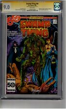 (B5) Swamp Thing #46 CGC 9.0 Signature Series *John Totleben*