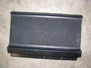 1991-1995 Toyota MR2 Rear Left Cargo Storage Box Cover OEM black