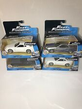 Jada Toys Fast and Furious 1:32 Diecast Car Lot (4 Cars)