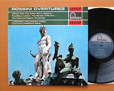 SFL 14056 Rossini Overtures Roberto Benzi Lamoureux Fontana Stereo NEAR MINT