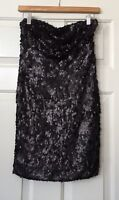 NWT Urban Outfitters Sparkle & Fade Black Sequin Occasion Party Dress Size M