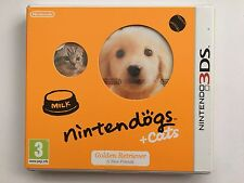 Nintendogs + cats-golden retriever & new friends (nintendo 3DS)