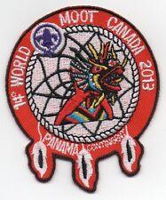 14th World Scout Moot Jamboree PANAMA CONTINGENT BADGE Canada 2013