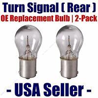 Front Turn Signal//Blinker Light Bulb 2pk Fits Listed Infiniti Vehicles 7440NA