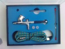 Kit de aerógrafo de doble acción 0.2 0.5 Aguja gravedad Cepillo De Aire Pistola Rociadora Pintura Arte