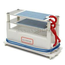 7G/H 110v Ozone Generator Double Sheet Ceramic Plate Air Sterilize Purifier Tool