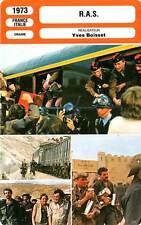 FICHE CINEMA : R.A.S. - Spiesser,Villeret,Weber,Boisset 1973 Nothing to Report