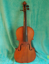 Vintage Antonius Stradivarius Cremonensis 4/4 Violin needs Parts & repairs