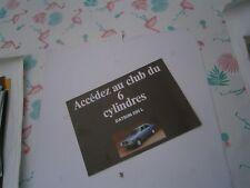 Catalogue pub auto prospectus voiture Datsun 6 cylindres 200 L