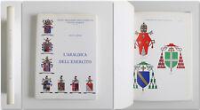 Oreste Bovio L'ARALDICA DELL'ESERCITO Con stemmario Stato Maggiore 1985
