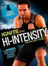 SPRI INGITE HI INTENSITY DVD - BRETT HOEBEL WORKOUT EXERCISE NEW SEALED