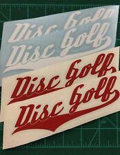 (4) 6� Disc Golf Vinyl Decals